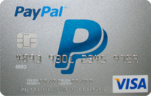 cartão paypal